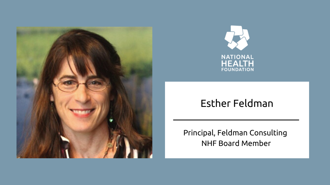 Esther Feldman, Board Member