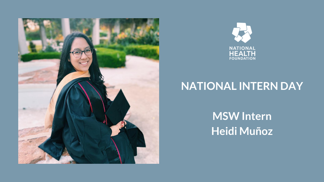 A header image of MSW Intern, Heidi Muñoz